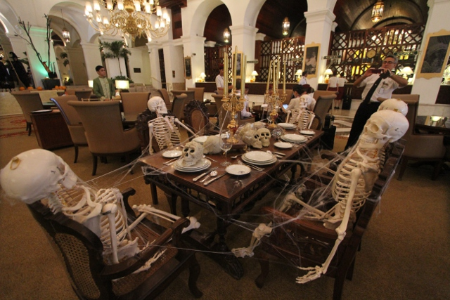 early halloween treat at manila hotel