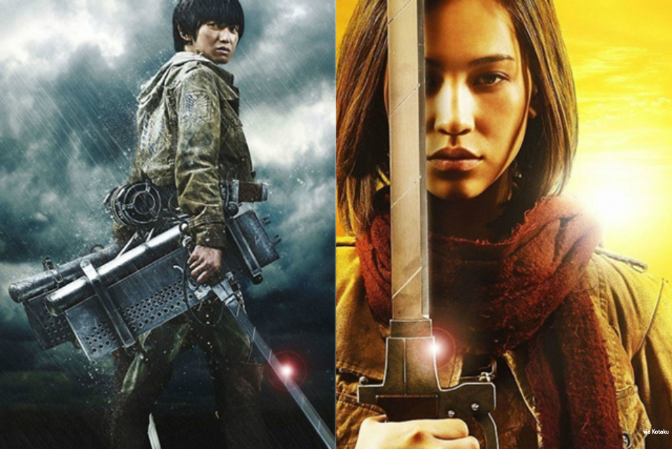 LOOK: A sneak peek at 'Attack on Titan' live action movie