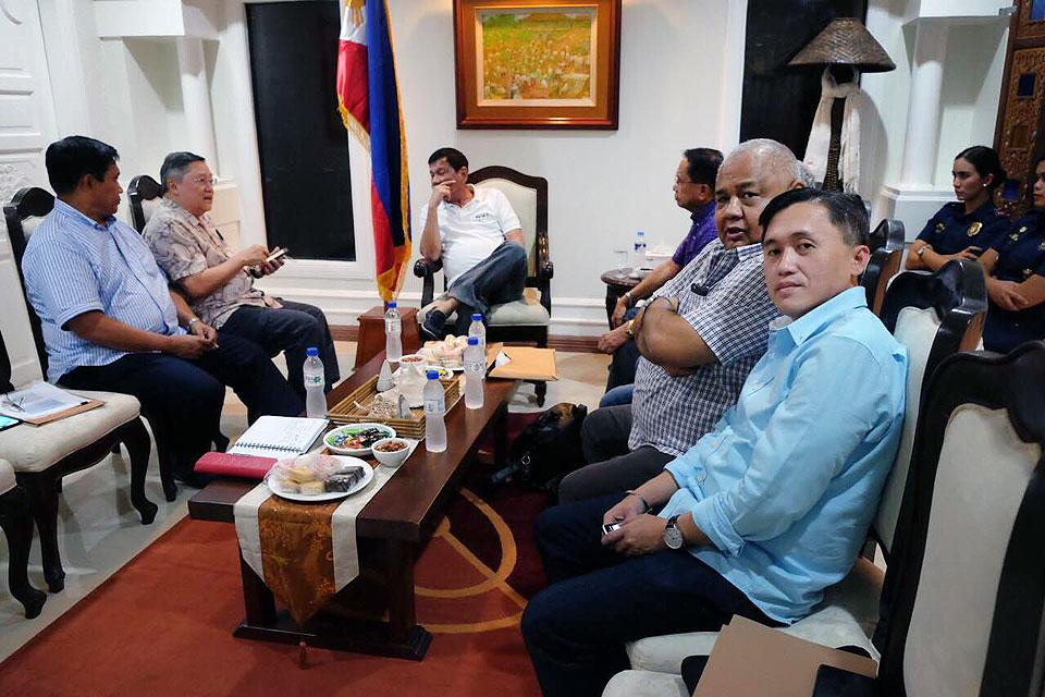 Duterte meets with his chosen Cabinet members | Photos | GMA News ...
