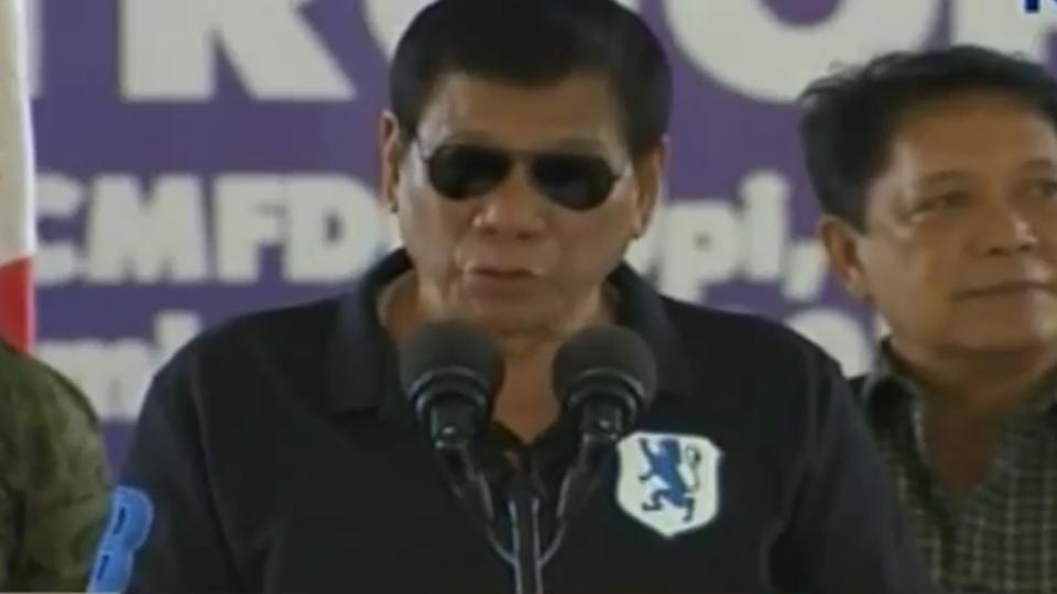 President Duterte in Gamu, Isabela