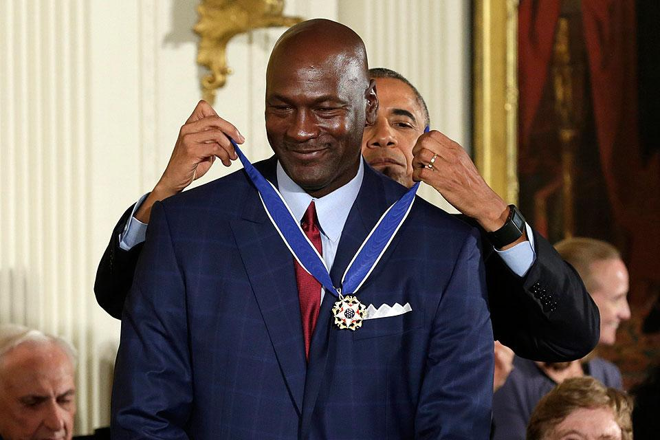 Obama Awards Presidential Medal Of Freedom On Michael