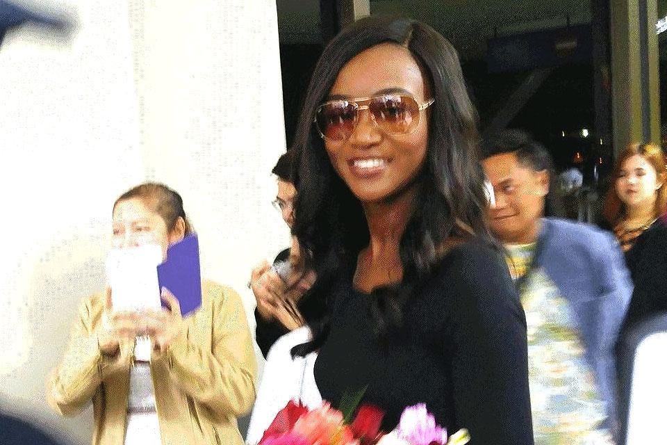 Miss USA arrives for Miss Universe 2017 pageant | Photos