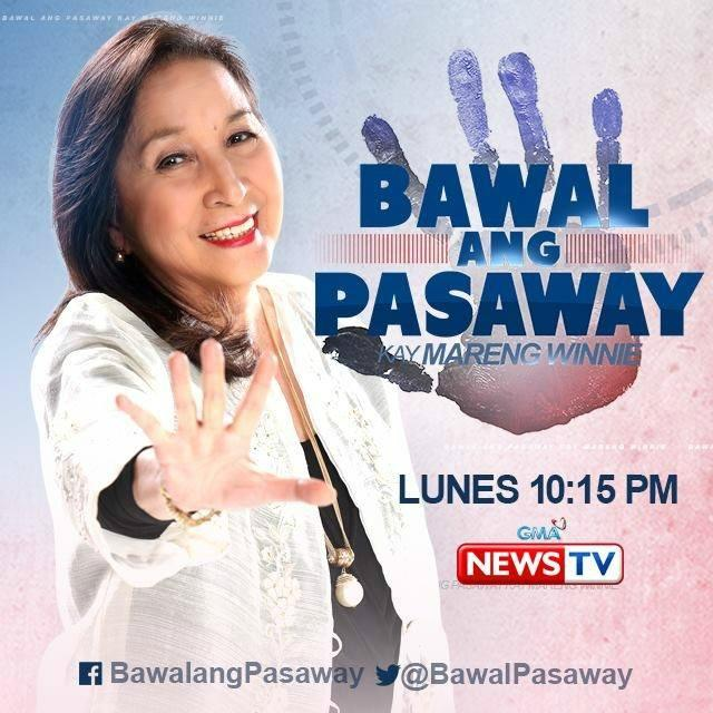 17 Best Images About Fashion Monitor Journalism Awards: 'Bawal Ang Pasaway Kay Mareng Winnie' Receives Recognition