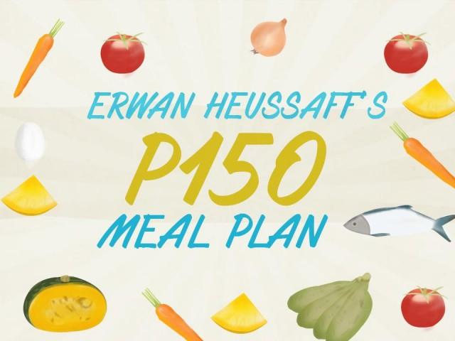 meal plan for a week filipino