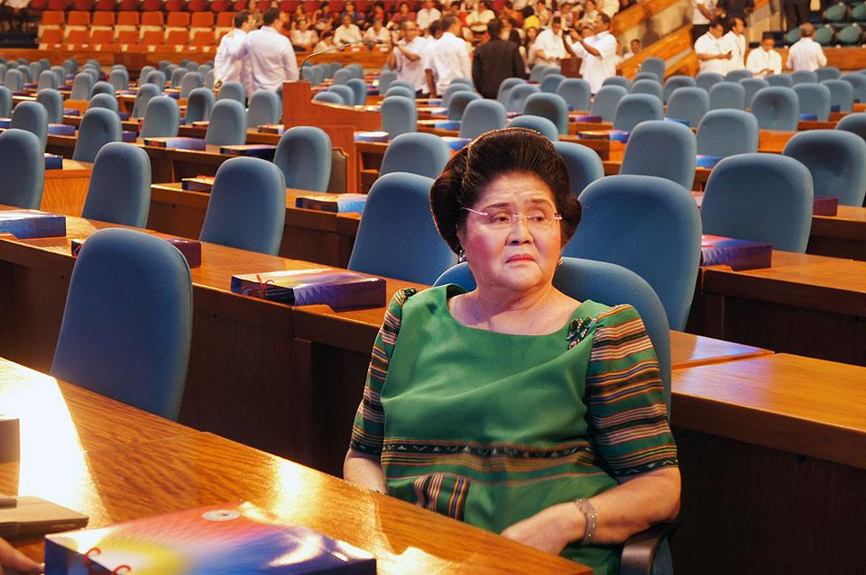 Imelda allowed to post bail pending approval of post