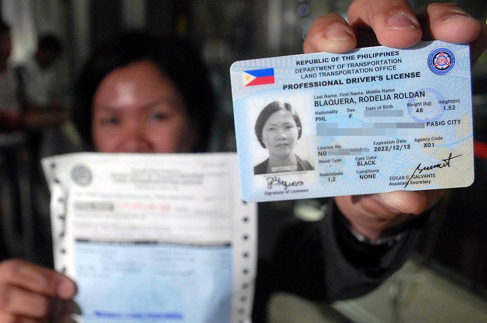 Photos Five News Online Released Lto License Drivers With Validity Year Gma