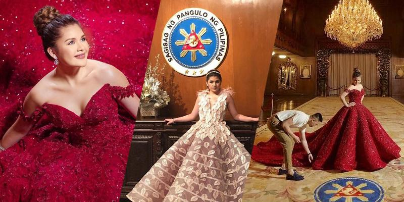 Isabelle Duterte Princess Like In Debutante Photo Shoot In