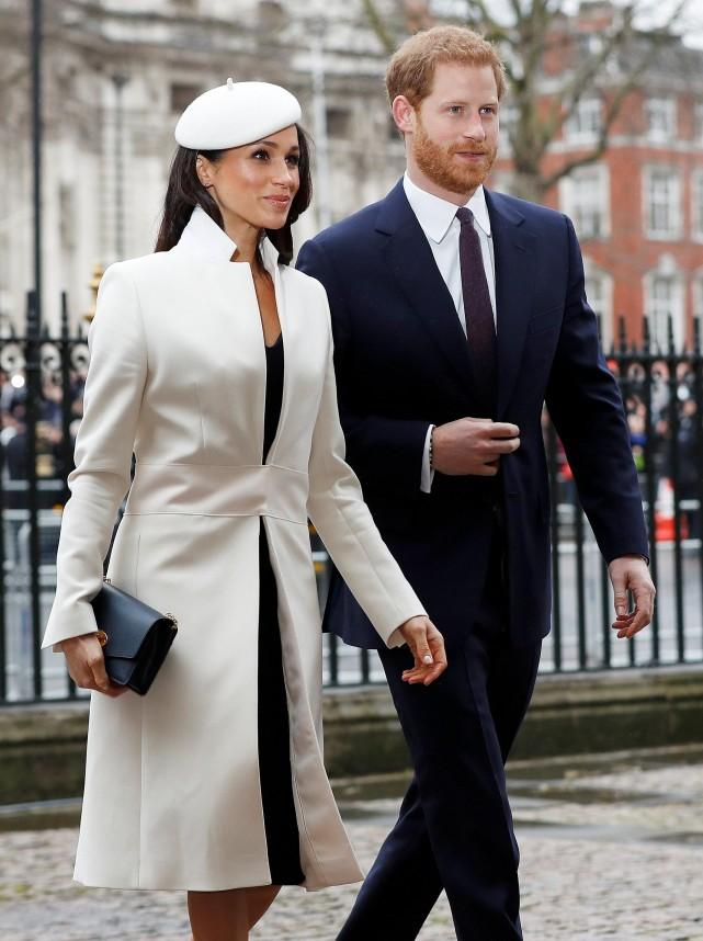 Image result for meghan markle walks ahead