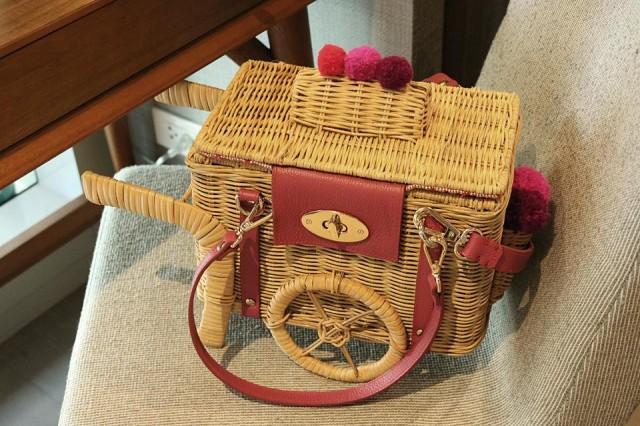 Ingenious bag by Zarah Juan.