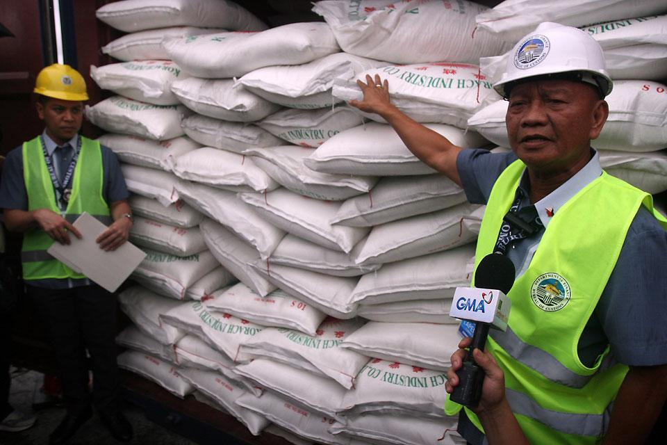 P40M worth of smuggled sugar from Thailand seized | Photos | GMA