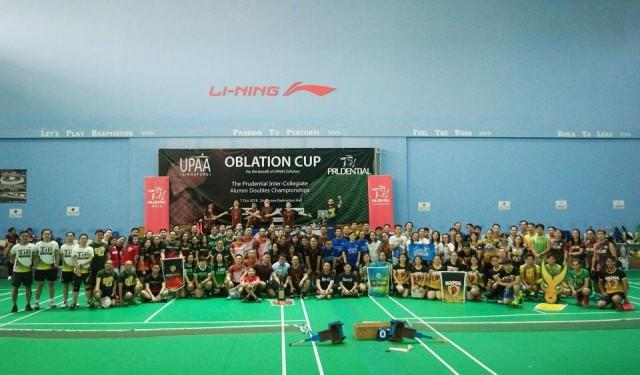 This year's Oblation Cup in Singapore had 218 participants from 32 universities. Photo: Ralph Emerson Dacles