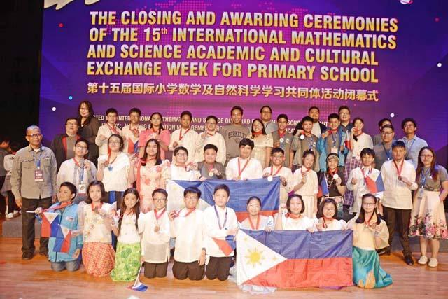 Pinoy students bag medals at HK int'l math olympiad   Pinoy