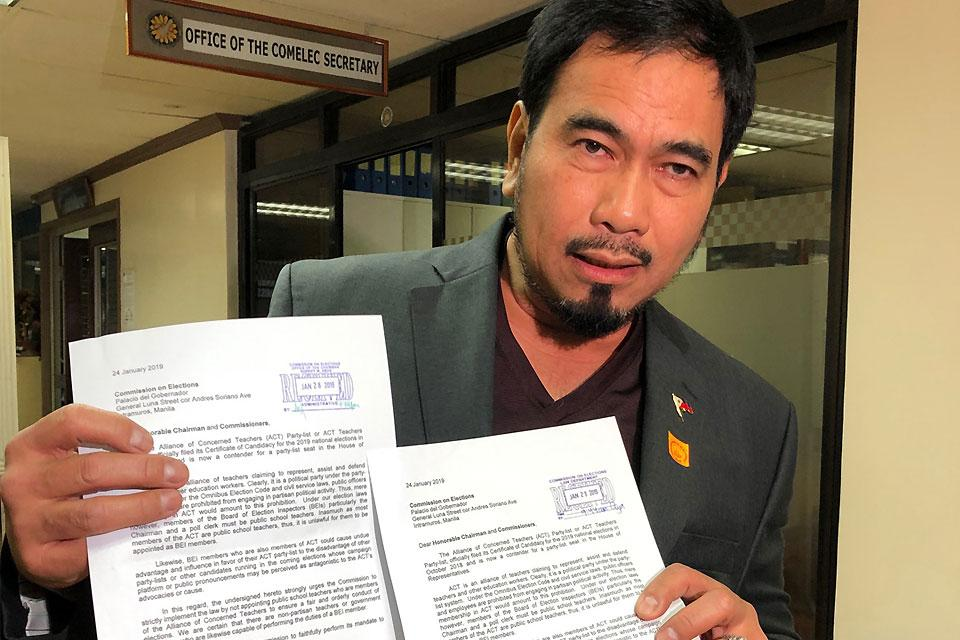 Comelec Asked Not To Accredit Act Teachers As May Polls Bei Photos