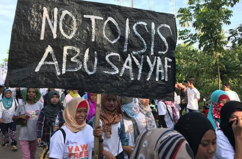 Talipao residents march for peace a week after Jolo ...March For Peace 2019