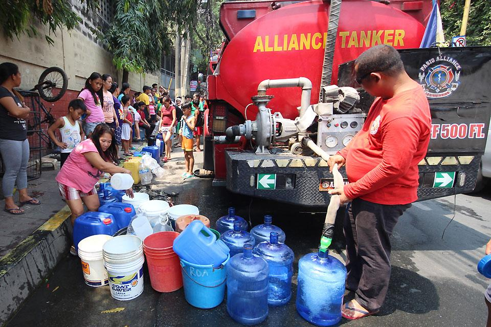 eo to solve water supply issues being finalized  u2014nograles