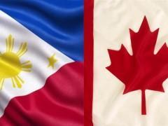 PHL and Canada flag composite