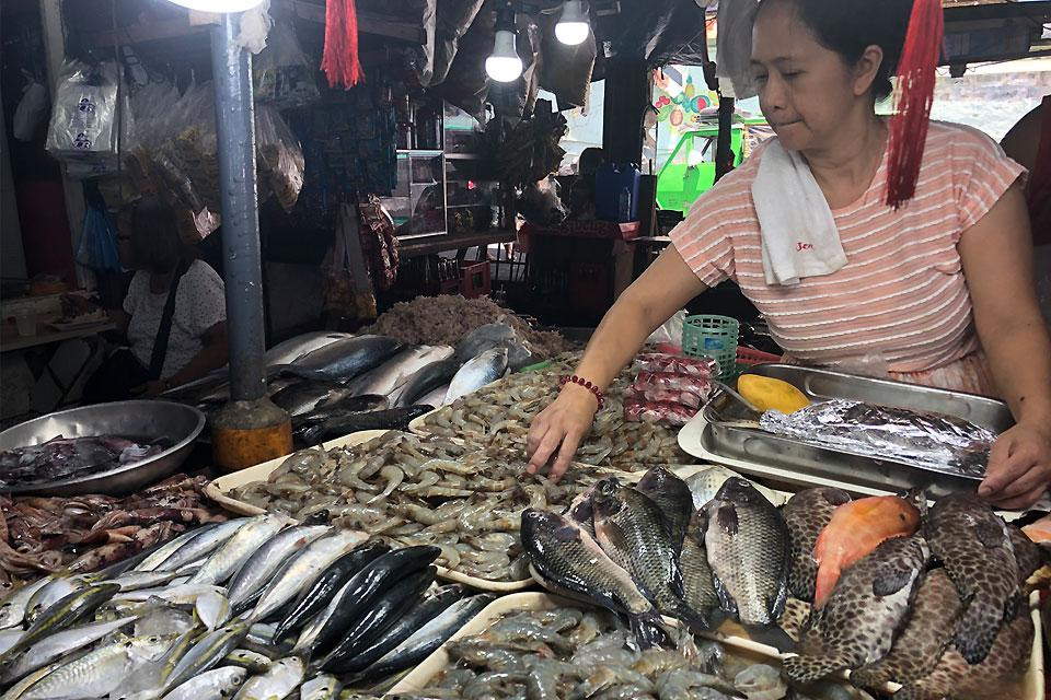 Price of some seafoods still up