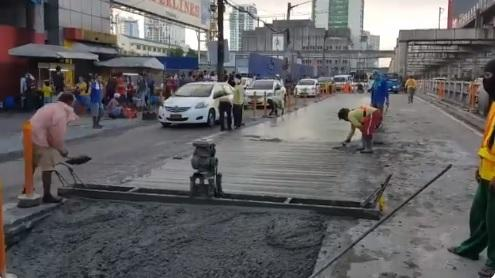 Road reblocking and repair schedule for August 16-19, 2019