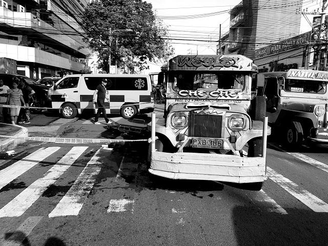 Jeepney-van accident in QC, July 20, 2019