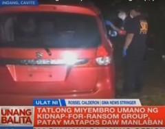 3 miyembro ng KFR patay sa Cavite