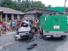 Road accident Pagbilao, Quezon