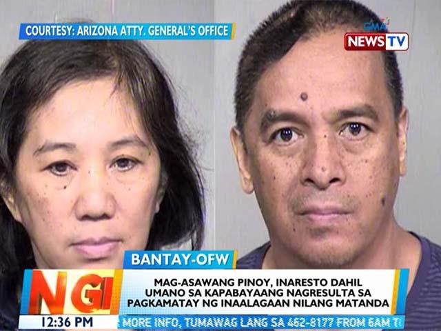 Pinoy couple arrested in Arizona