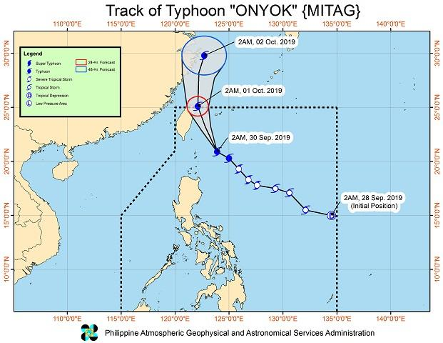Onyok slows down but Signal No. 1 still up over Batanes, Babuyan Islands - GMA News
