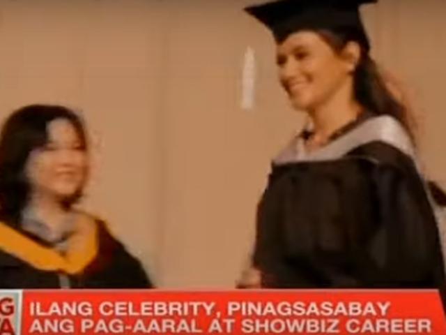 Kapuso celebrities graduate