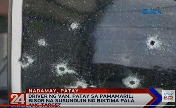 driver ng van patay sa pamamaril sa maynila