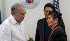 Ambassador Jose Manuel Romualdez and Nanay Fedelina