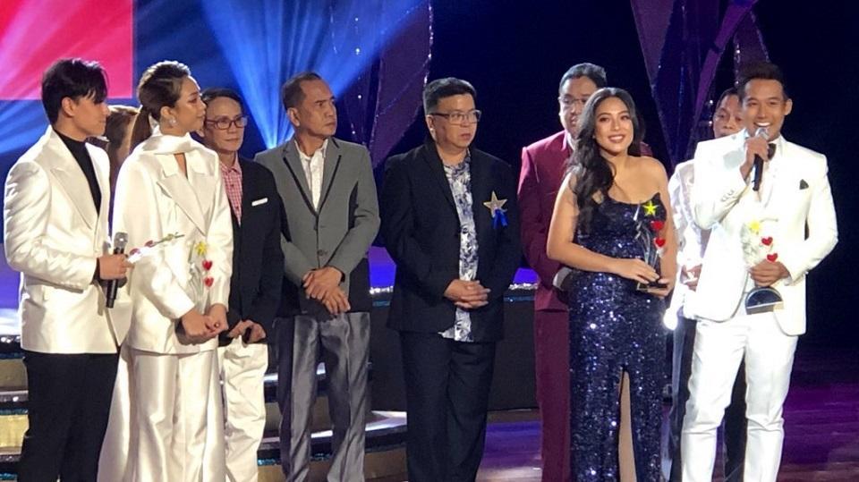 Ken Chan and Rita Daniela at PMPC Star Awards