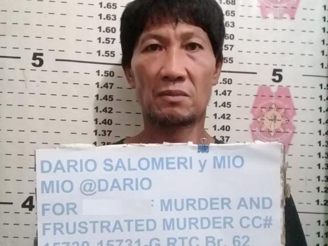 Murder suspect Dario Salomeri