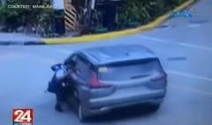 Manila Traffic Parking Bureau enforcer na nakaladkad ng SUV