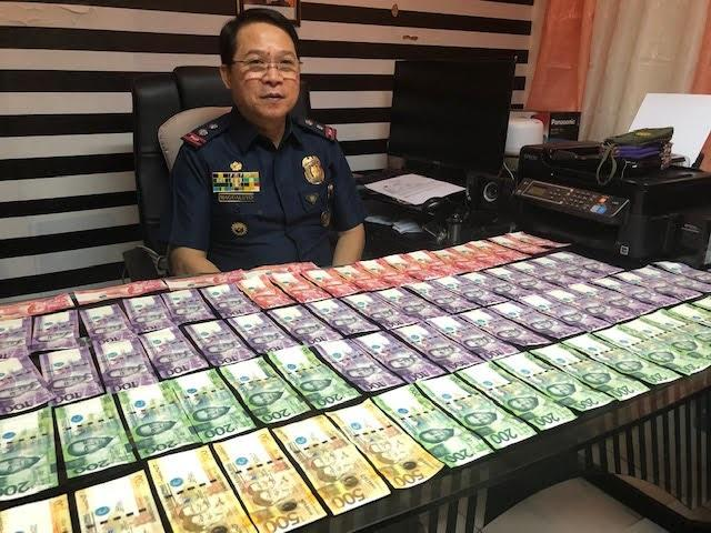 Counterfeit money confiscated in Quiapo