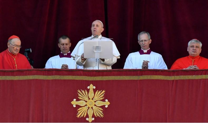Pope Christmas Without Congregation