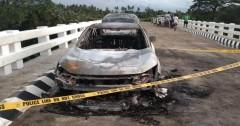 Ex-solon Edgar Mendoza believed to be among 3 bodies in burned car in Quezon  (THUMBNAIL)