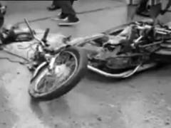 Road crash thumb