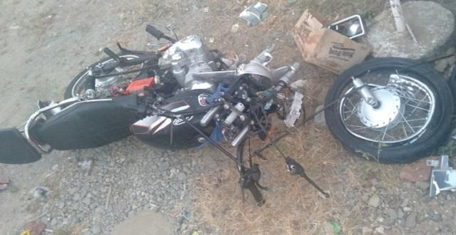 Motorcycle accident in Paoay, Ilocos Norte, Jan. 18, 2020