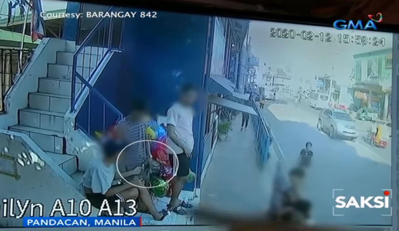 Balloon vendor in Manila suffers burns due to a bad prank