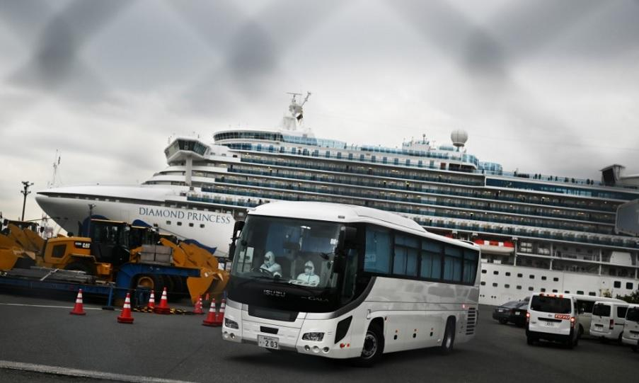 Diamond Princess passengers, crew remain on quarantine on Valentine's