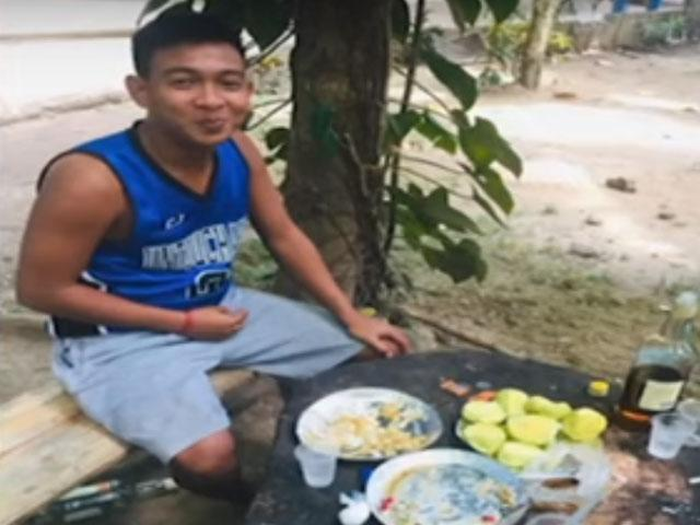 Hazing victim in Sorsogon