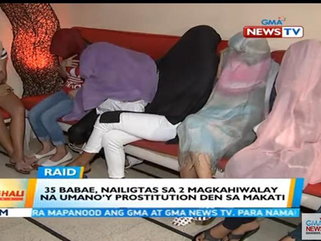Prostitution den Makati City