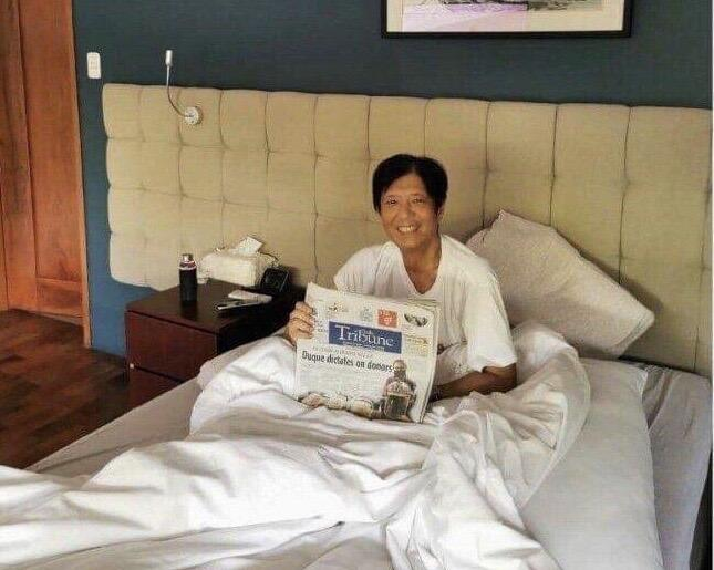 Bongbong Marcos says he's slowly recovering from COVID-19 | News | GMA News Online