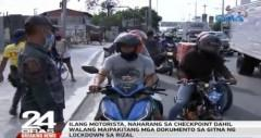 Rizal lockdown