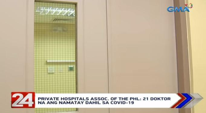 21 Filipino doctors have died due to COVID-19 —PHAP
