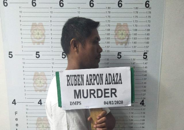 Ruben Adaza, suspect in killing of CAFGU member
