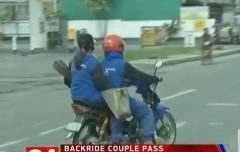 back ride