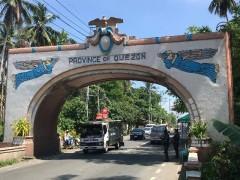 Quezon Province boundary