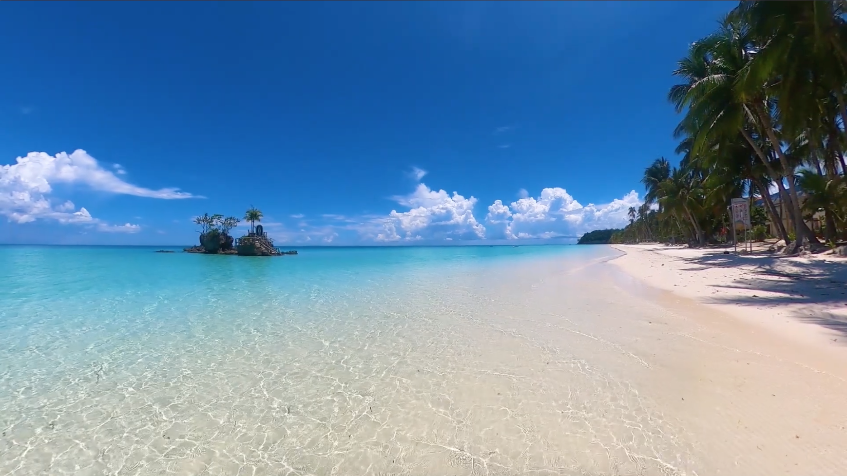 Few tourists visit Boracay on first day of reopening, Malay mayor says