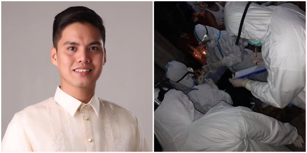 Camsur Mayor doubles as health worker